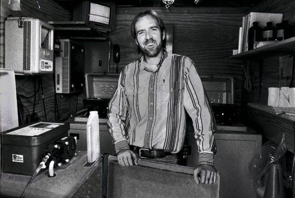 Monitoring shack portrait bw 1996 3